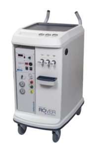 Dialysis cart with unit