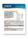 Biopharmaceutical Surface Disinfectants Datasheet