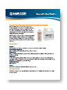 Minncare Cold Sterilant Datasheet