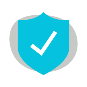 checkmark shield icon
